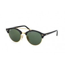 Ray Ban Clubround Double Bridge RB4346 901